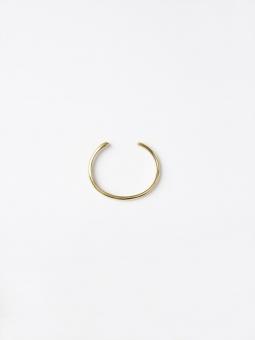 Malaika Cotton Open Brass Bracelet