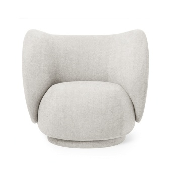 Ferm Living Lounge Chair Rico Boucle