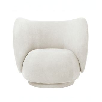 Ferm Living Lounge Chair Rico Brushed