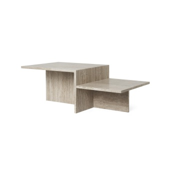 Ferm Living Soffbord Distinct Travertine