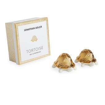 Jonathan Adler Tortoise Salt & Pepparkar
