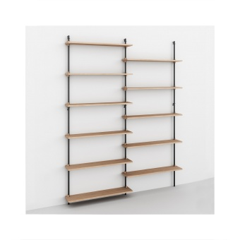 Moebe Wall Shelving WS.200.2
