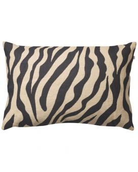 Chhatwal & Jonsson Kuddfodral Zebra Linen Beige Black