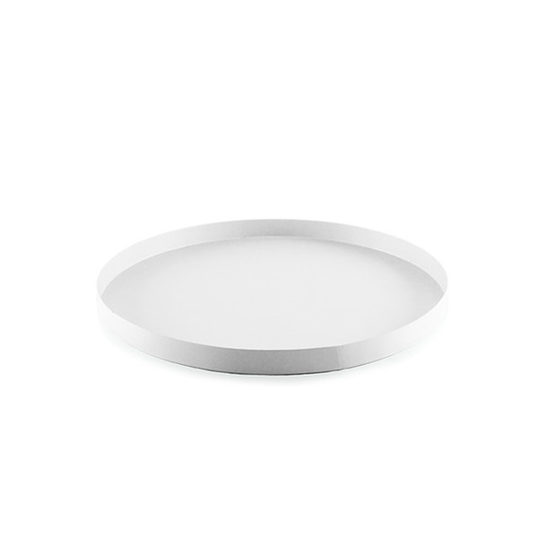 Cooee Tray Circle White