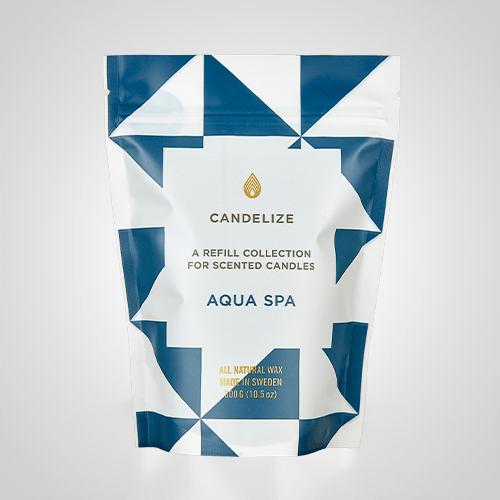 Candelize Refill Doftljus Aqua Spa