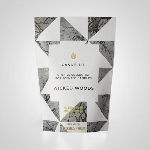 Candelize Refill Doftljus Wicked Woods