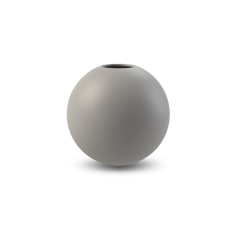 Cooee Ball Vase Grey 10 cm