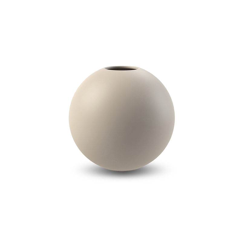 Cooee Ball Vase Sand 10 cm