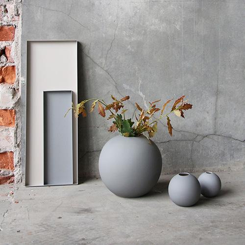 Cooee Ball Vase Grey By Binett