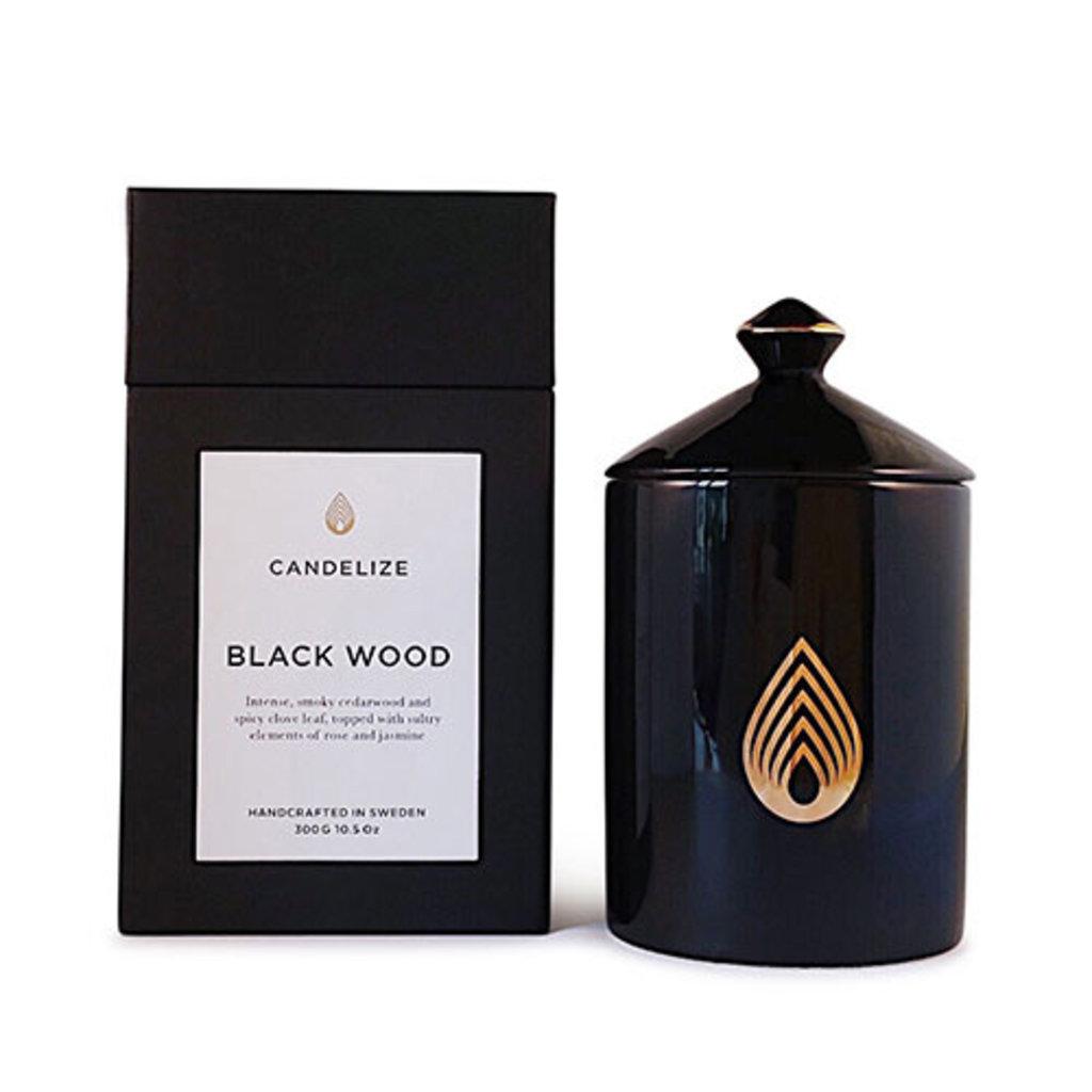 Candelize Doftljus Black Wood
