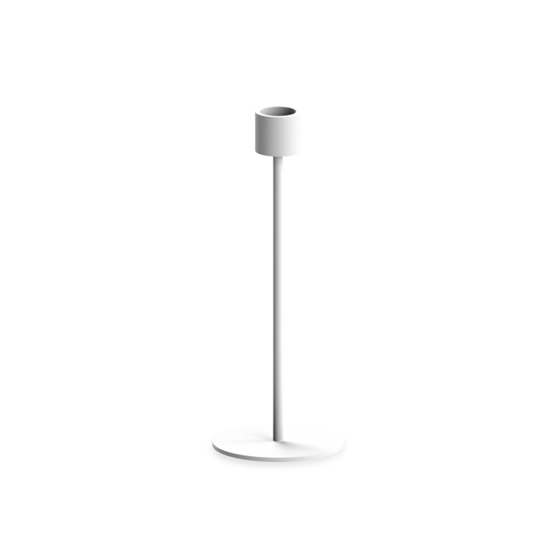 Cooee Candlestick White 21 cm