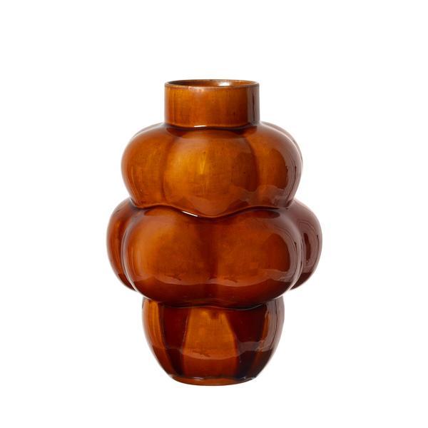 Louise Roe Balloon Vase 04 Ceramic Affogato Limited Edition