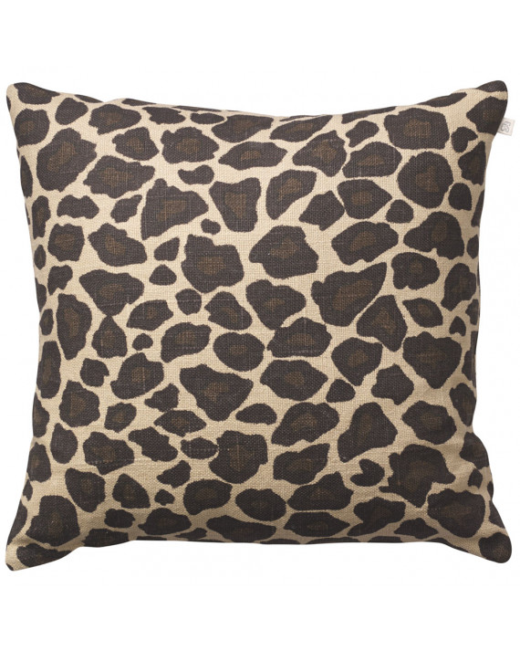 Chhatwal & Jonsson Kuddfodral Leopard Linen Brown