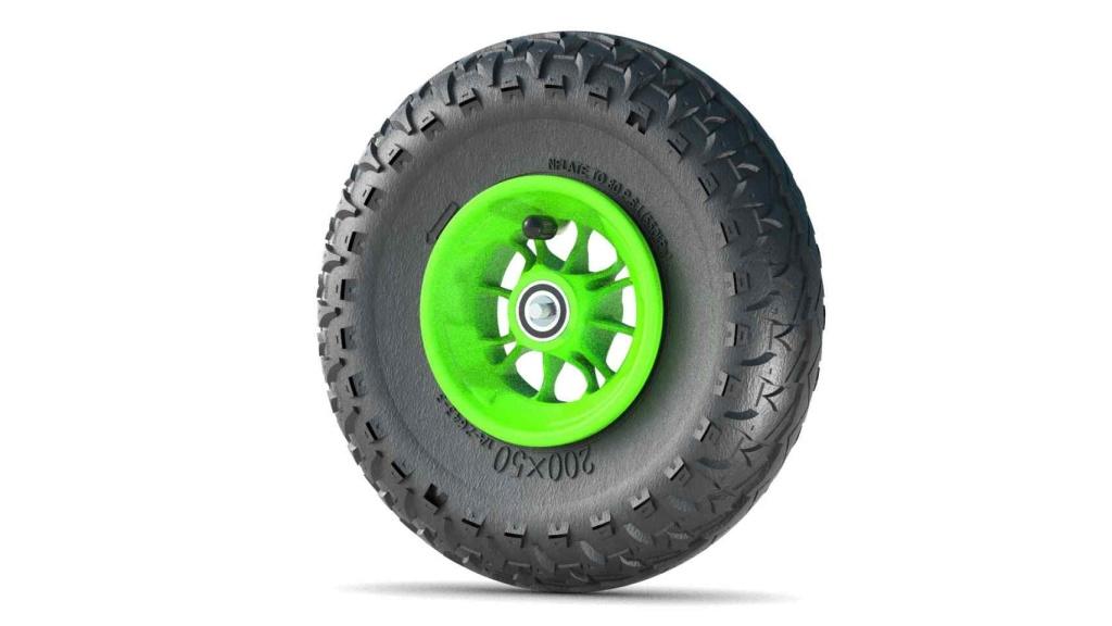 Komplett hjul - 200 mm