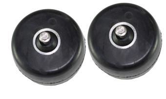 AE Framhjul Extra tröga - 2-pack