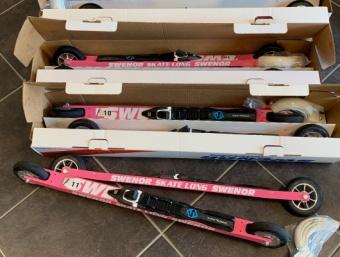 Swenor Skate Alu Pink Long (SM-körda)