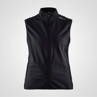 Craft Warm Vest Black (Dam)