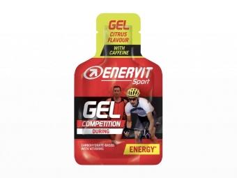 Enervit Sport Gel Citrus med koffein 25 ML