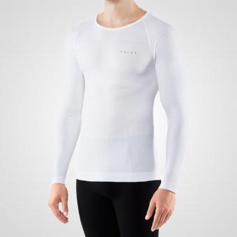 Falke - Warm Longsleeved Shirt Tight Men - White