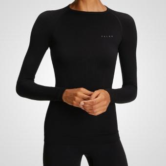 Falke - Warm Longsleeved Shirt Tight Women - Black