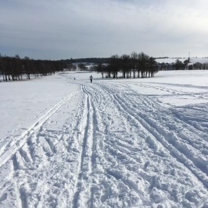 Snö i Skåne!