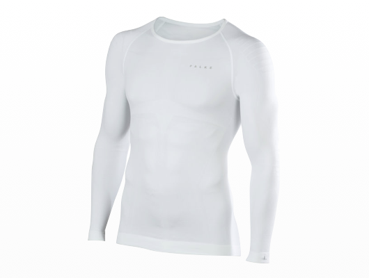 Falke - Warm Longsleeved Shirt Tight Men - White