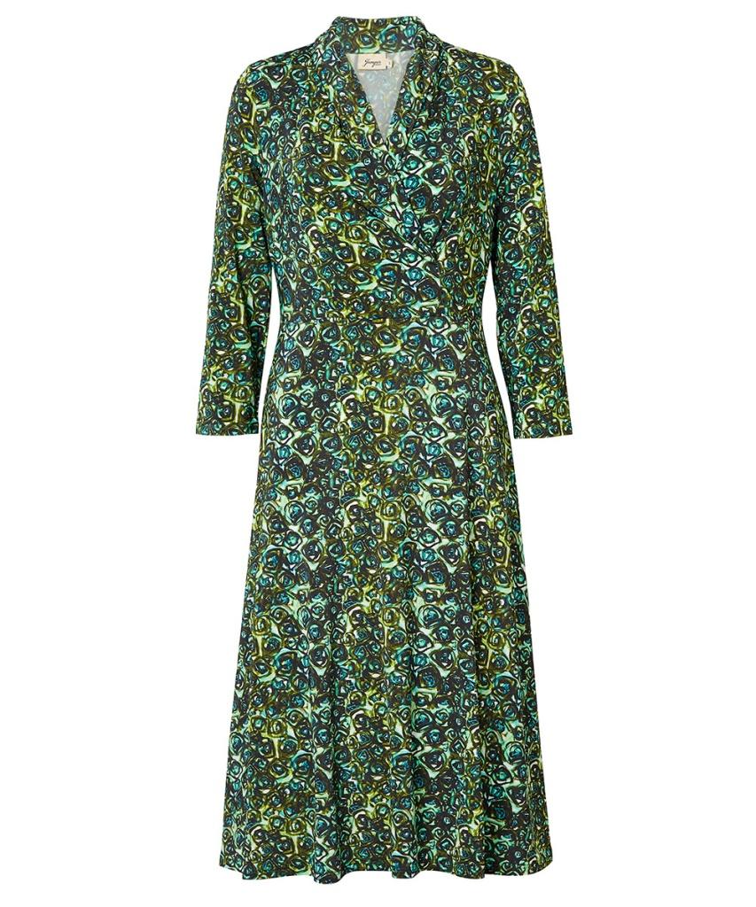 Jumperfabriken dress Wendy green