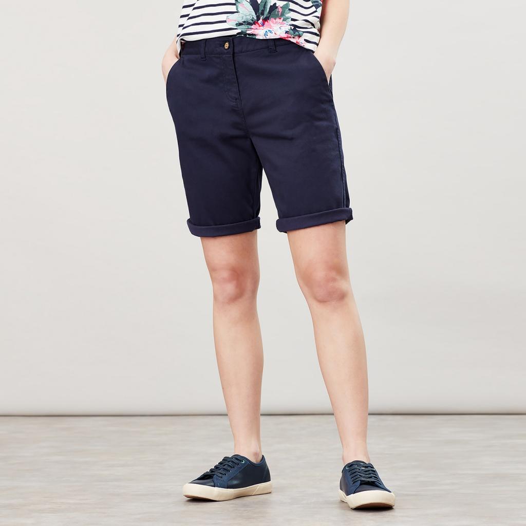 Joules long chino shorts Cruise navy
