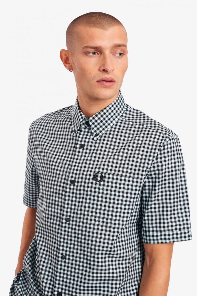 Fred Perry shirt Gingham Short Sleeve