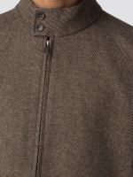 Wool Harrington Jacket