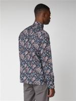 Ben Sherman shirt Paisley Dark Navy
