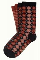 King Louie socks 2-Pack Aberdeen Spicy Brown