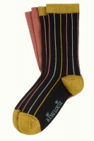 King Louie socks 2-Pack Carrousel Curry Yellow
