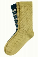 King Louie socks 2-Pack Tate Dragonfly Green