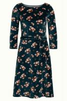 Betty dress huckleberry