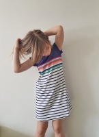 Riviera Short Sleeve Dress