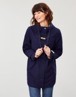 Coast Mid Waterproof Coat French Navy