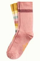 King Louie socks 2-Pack Campania Curry Yellow