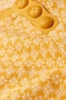 Button Jumper Langlauf Sunset Yellow
