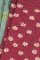 Socks 2-Pack Orbit cherise red