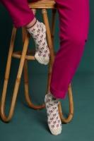 King Louie short socks 2-Pack Fauna Cream