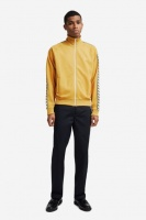 Fred Perry Taped Track Jacket Gold