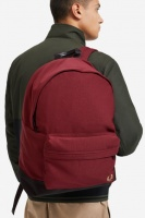 Woven Backpack Maroon