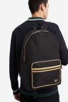 Black Champagne Twin Tipped Backpack