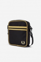 Twin Tipped Black Champagne Side Bag