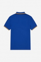 Fred Perry polo Shirt twin tipped Cobalt/Gold