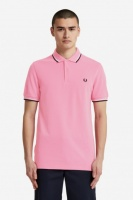 Fred Perry polo shirt Twin Tipped Bright Pink
