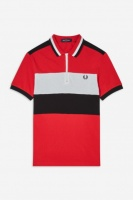 Chest Panel Polo Shirt