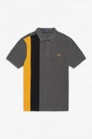 Side Panel Stripe Polo Shirt