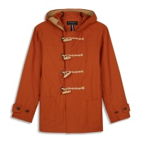Mens Summer Monty Duffle Coat ginger